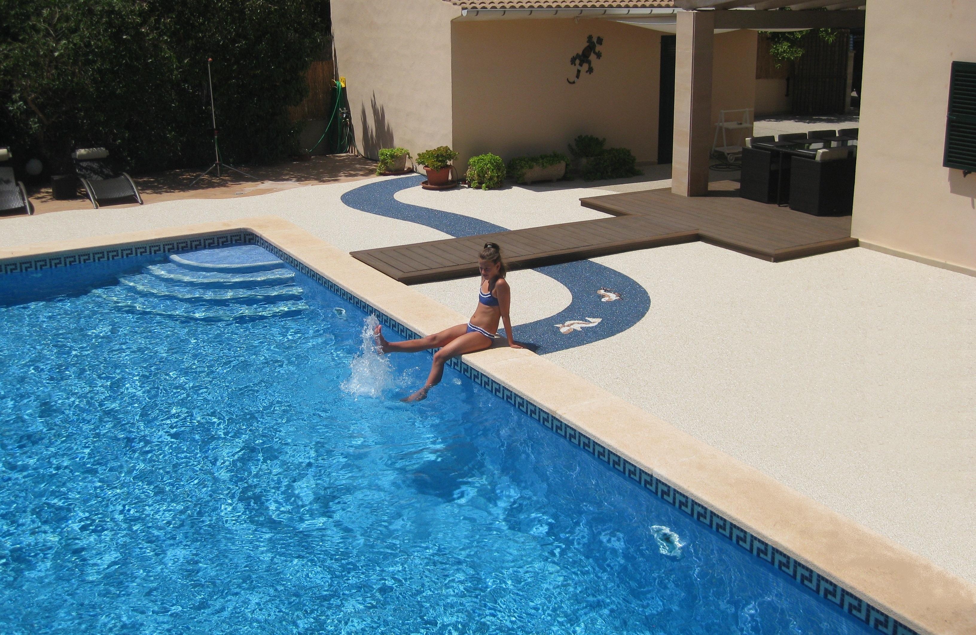 Steinteppich für Terrassen , Treppen  und Balkonsanierung